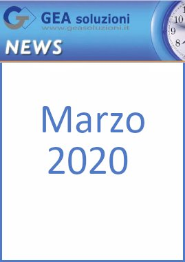 Newsletter Marzo2020