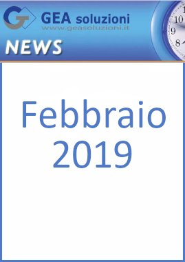 Newsletter febbr2019