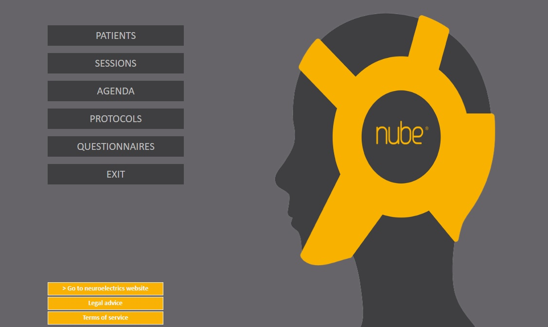 Nube main page